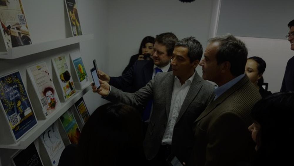 Primera Biblioteca digital física en Chile