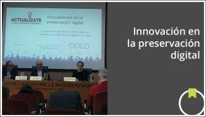 innovación en preservación digital