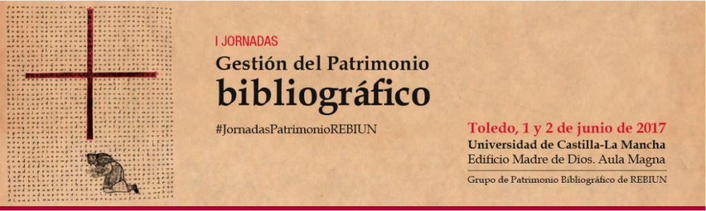 Odilo participa en las I Jornadas de Gestión del Patrimonio Bibliográfico el 1 y 2 junio en toledo
