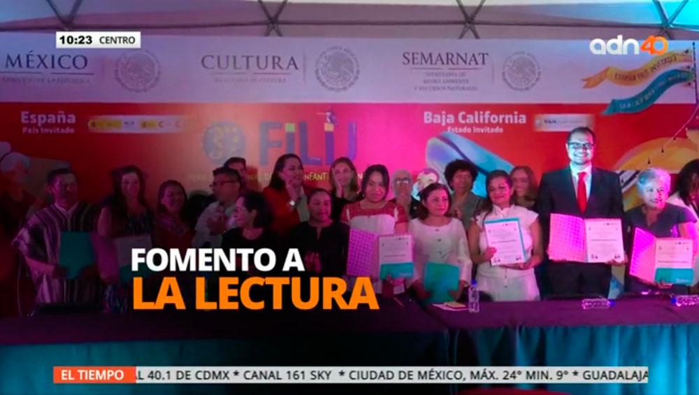 Grupo Salinas recibe el Premio al Fomento de la Lectura y la Escritura 2017