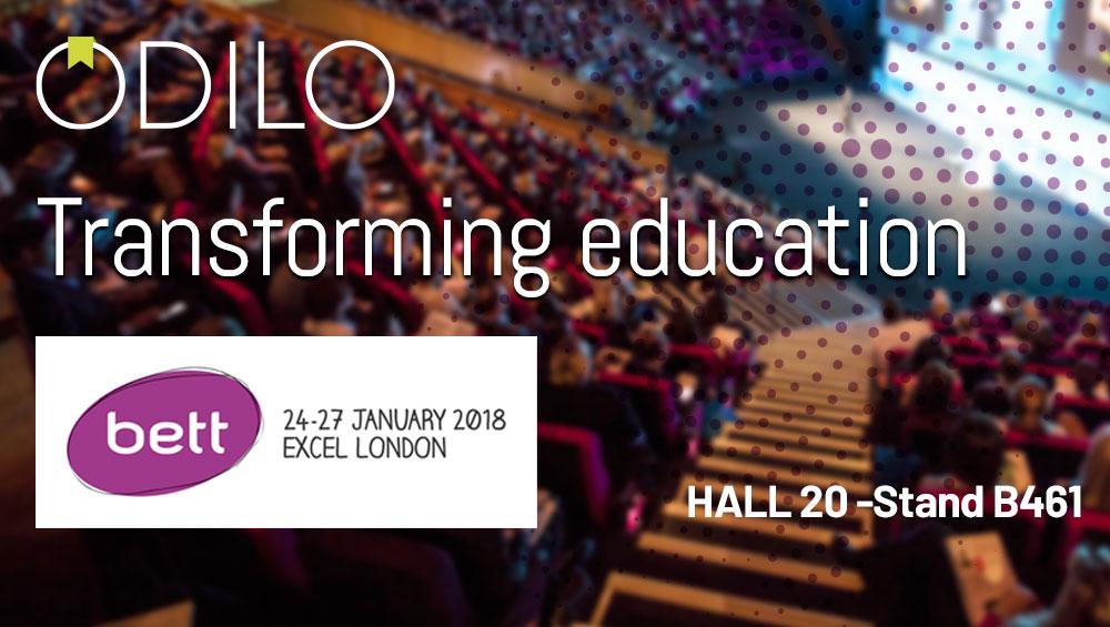 Odilo presentará la evolución de sus servicios de biblioteca y lectura digital colaborativa en BETT en Londres del 24 al 27 enero