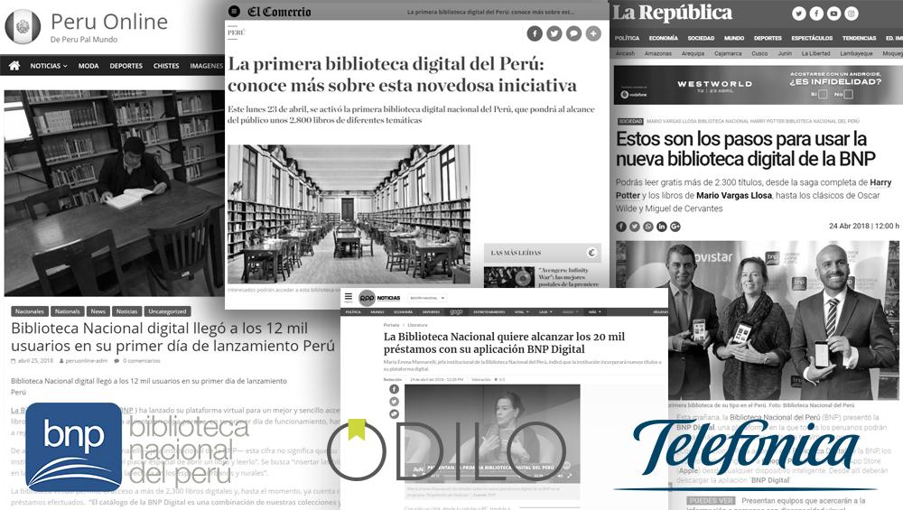 El Ministerio de Cultura de Perú se alía con Odilo y Telefónica para ofrecer acceso a la cultura de forma gratuita en todo el país
