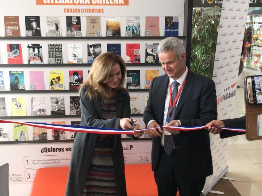 El éxito se repite. Del metro al aeropuerto de Chile, ahora la lectura vuela gracias a la Biblioteca Pública Digital DIBAM y ODILO
