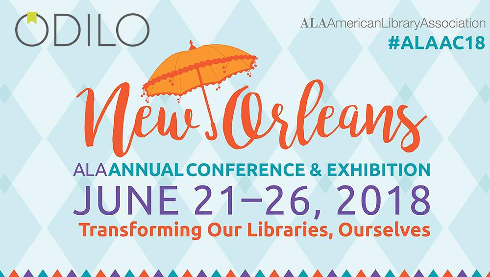 Odilo continúa su alianza con Ingram en la conferencia anual de la American Library Association (ALA) en Nueva Orleans