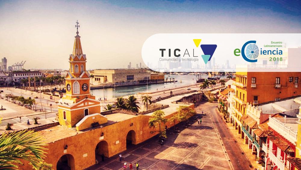 Odilo presente en TICAL eCiencia 2018 en Cartagena de Indias del 3 al 5 de septiembre