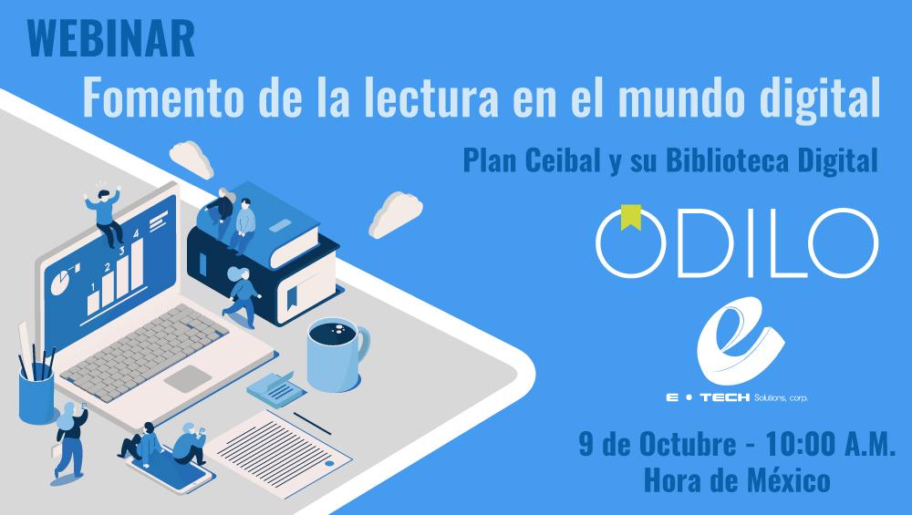 Forma líderes gracias a la lectura   Webinar con Plan CEIBAL el 9 de octubre 10:00 AM horas México