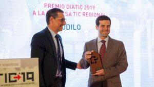 ODILO recibe premio a mejor empresa TIC regional en DIATIC