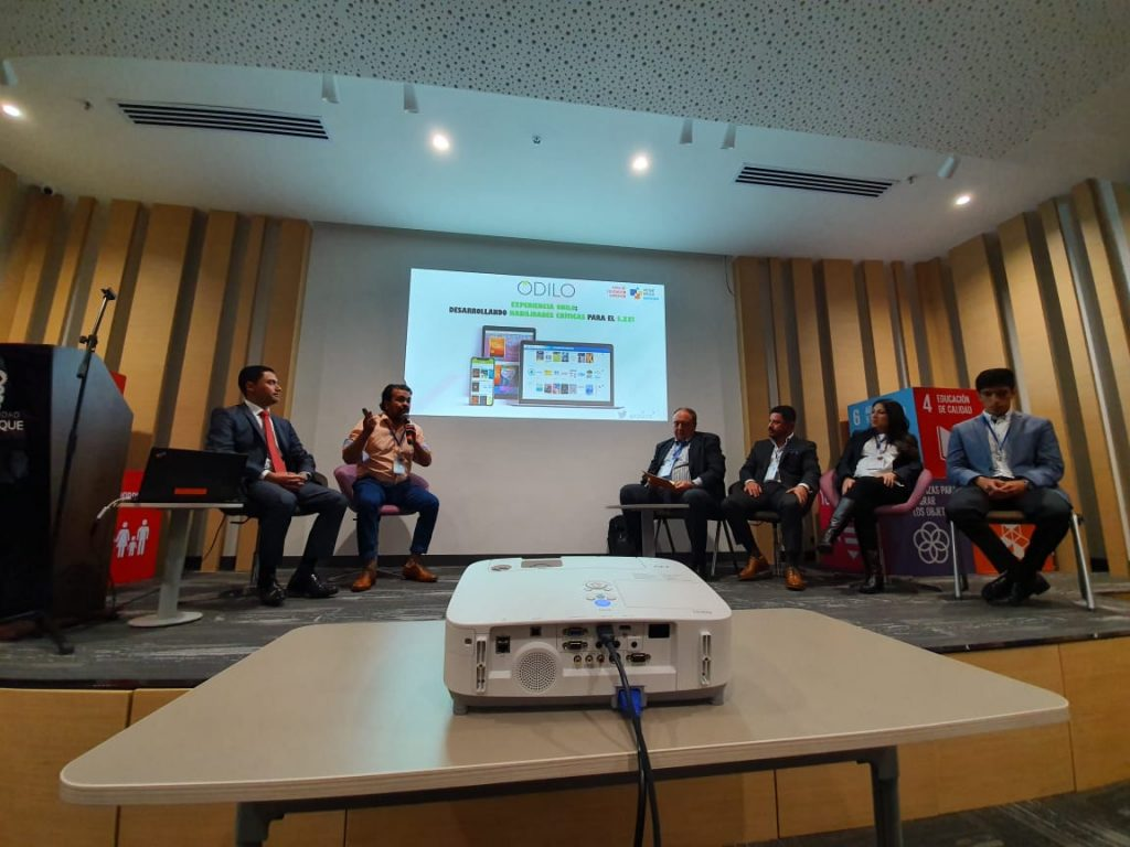 ODILO en Foro de Educación Superior de Virtual Educa en Bogotá