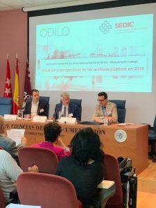 ODILO y SEDIC generaron conversación sobre la situación de los archivos en 2019