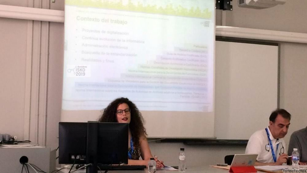 ODILO presentó en Congreso ISKO 2019 su solución para aplicar normativas de descripción a los software de archivos