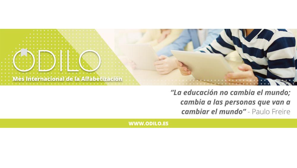ODILO se une a la celebración del Día Mundial de la Alfabetización