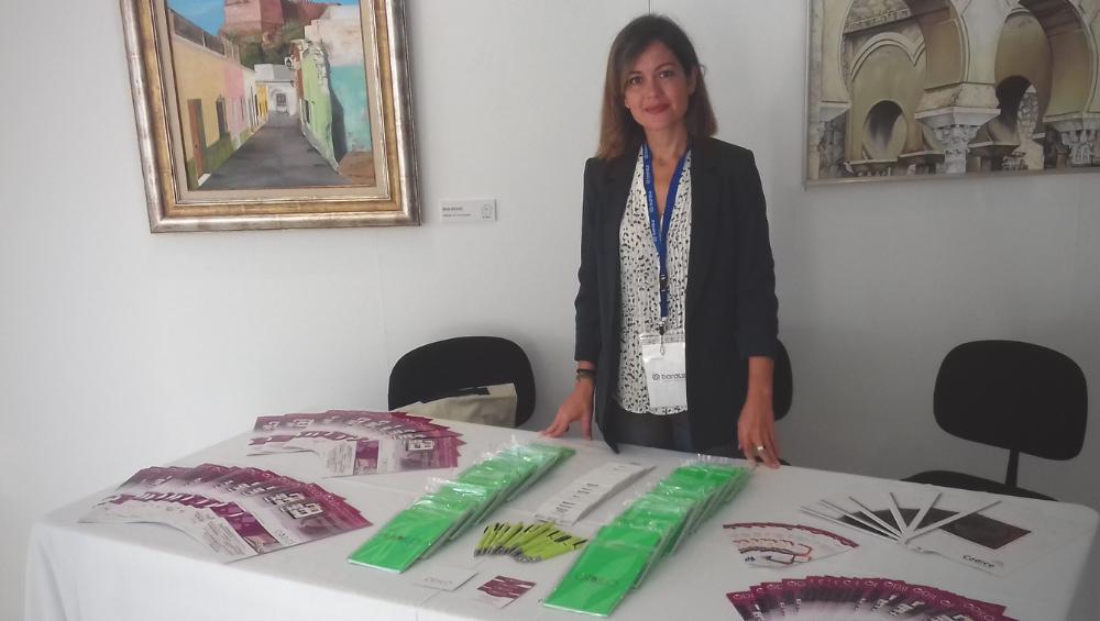 Odilo estuvo presente en las XX Jornadas bibliotecarias Andaluzas en Roquetas de Mar (Almería)