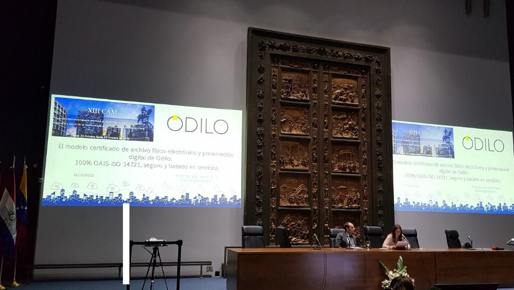 El modelo certificado de archivo físico-electrónico y preservación digital de ODILO