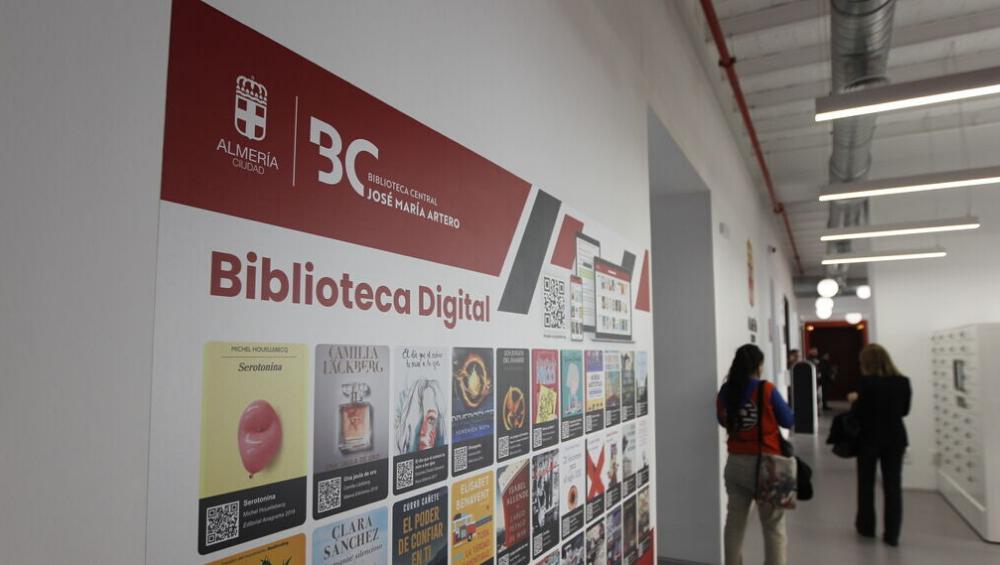 Se inaugura la biblioteca central de Almería con ODILO como proveedor estratégico