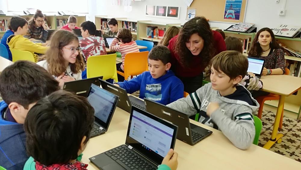 Eduteca es la plataforma de lectoescritura digital de la Consejería de Educación, Universidad e Investigación del Gobierno Balear, desarrollada por ODILO